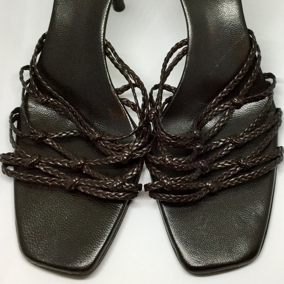 Gucci Shoes - GUCCI FOR TOM FORD BRAIDED SANDALS